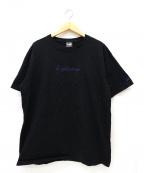 YOHJI YAMAMOTO×New Era(ヨウジヤマモト×ニューエラ)の古着「シグネイチャーロゴTシャツ」 ブラック
