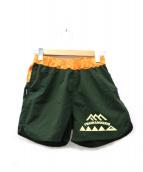 mountain martial arts(マウンテンマーシャルアーツ)の古着「ランニングパンツ」|カーキ