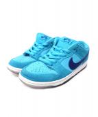 NIKE(ナイキ)の古着「SB DUNK LOW PRO BLUE FURY」|ブルー
