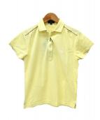 BURBERRY GOLF(バーバリーゴルフ)の古着「ポロシャツ」|イエロー