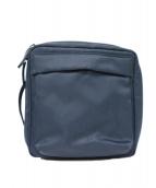 HELMUT LANG(ヘルムートラング)の古着「フロントロゴミニショルダーバッグ」|ネイビー