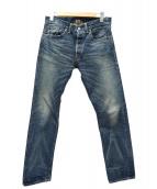 RRL(ダブルアールエル)の古着「セルビッヂデニムパンツ」|インディゴ