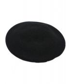 GDC×CA4LA(ジーディーシー×カシラ)の古着「ビッグベレー帽」|ブラック