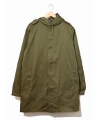 VINTAGE MILITARY(ヴィンテージ ミリタリー)の古着「[古着]80sライナー付フーデッドコート」|カーキ