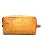 PRIMA CLASSE(プリマクラッセ)の古着「セカンドバッグ」 ベージュ