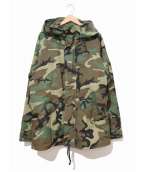 VINTAGE MILITARY(ヴィンテージ ミリタリー)の古着「[古着]90'sECWCSゴアテックスジャケット」|カーキ