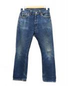LEVI'S(リーバイス)の古着「[古着]レプリカ501XXデニムパンツ」|インディゴ