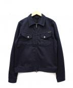 NUDIE JEANS(ヌーディジーンズ)の古着「ストレッチジップデニムジャケット」|インディゴ
