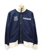 Pherrow's(フェローズ)の古着「トラックジャケット / ジャージ」|ネイビー