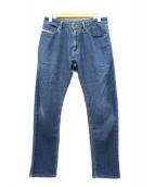 DIESEL KID(ディーゼル キッズ)の古着「スウェットデニムパンツ」|インディゴ