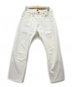 RESOLUTE(リゾルト)の古着「ホワイトデニムパンツ」|ホワイト