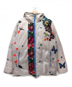 Bohemians(ボヘミアンズ)の古着「中綿フーデッドリバーシブルジャケット」 グレー