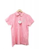 MARK&LONA(マークアンドロナ)の古着「ポロシャツ」|ピンク