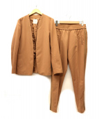 Lui's(ルイス)の古着「セットアップ」|ベージュ