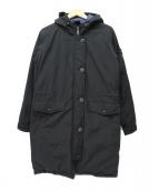CAPE HEIGHTS(ケープハイツ)の古着「ミリタリーダウンコート」|ブラック