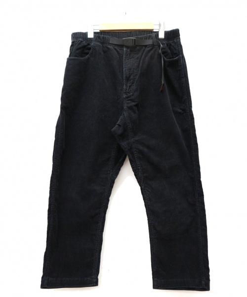 GRAMICCI(グラミチ)GRAMICCI (グラミチ) コーデュロイワイドクライミングパンツ ブラック サイズ:Lの古着・服飾アイテム