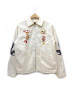 テーラー東洋(テーラートウヨウ)の古着「ベトジャン / ベトナムジャケット」 ホワイト