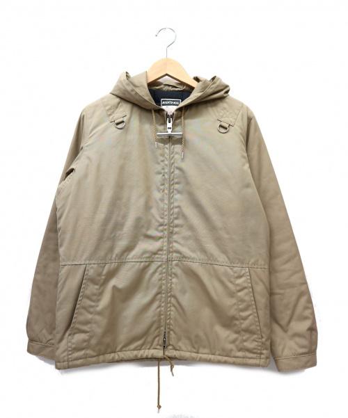 MIGHTY-MAC(マイティーマック)MIGHTY-MAC (マイティーマック) エアロデッキジャケット ベージュ サイズ:M 日本製・サーティーファイブサマーズ復刻品の古着・服飾アイテム