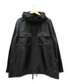 Engineered Garments(エンジニアド ガーメンツ)の古着「CAGOULE SHIRT / カグールシャツ」|ブラック
