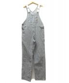 CARHARTT WIP(カーハート ダブリューアイピー)の古着「ヒッコリーオーバーオール」|ブルー