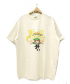 KITH NYC×Lucky Charms(キス ニューヨークシティ×ラッキーチャームス)の古着「Lucky Charms Vintage Tee」|ベージュ