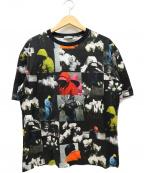 DIOR HOMME()の古着「総柄Tシャツ」|ブラック