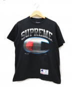 SUPREME×Champion(シュプリーム×チャンピオン)の古着「プリントTシャツ」|ブラック