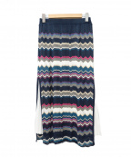 Viaggio Blu(ビアッジョブルー)の古着「プリーツスカート」 ネイビー