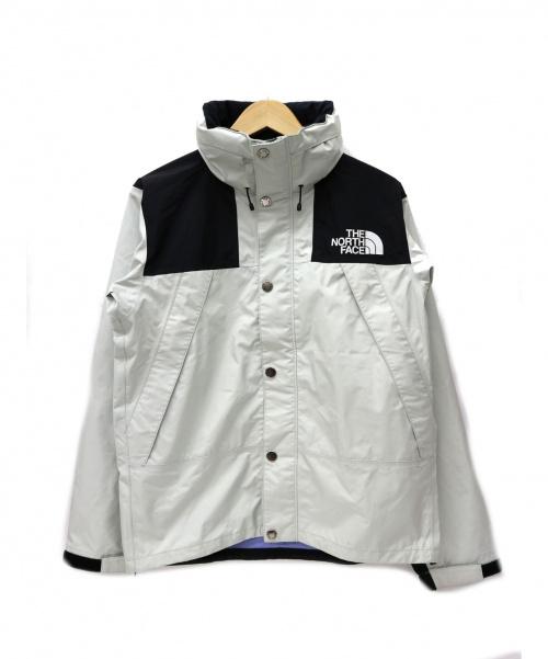 THE NORTH FACE(ザ ノース フェイス)THE NORTH FACE (ザ ノース フェイス) マウンテンレインテックスジャケット ホワイト サイズ:S MT Raintex JKTの古着・服飾アイテム