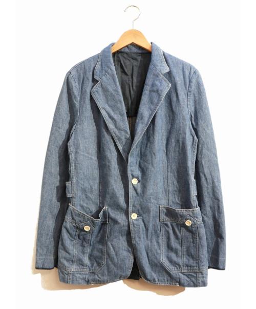 LEE(リー)LEE (リー) [古着]テーラードデニムジャケット インディゴ サイズ:表記なし USA製 70's・LEE SET ユニチケ付の古着・服飾アイテム