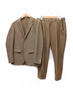 EDIFICE(エディフィス)の古着「セットアップスーツ」|ブラウン
