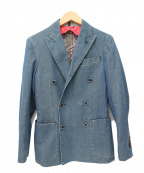 L.B.M.1911(ルビアム1911)の古着「ダブルジャケット」|インディゴ