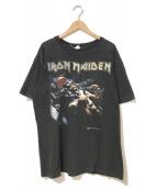 ()の古着「[古着]90's IRON MAIDEN Tシャツ」|ブラック