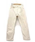 ()の古着「[古着]90's 501ホワイトデニムパンツ」|アイボリー