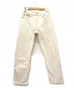 LEVI'S(リーバイス)の古着「[古着]90's 501ホワイトデニムパンツ」|アイボリー