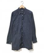 Jean Paul GAULTIER(ジャンポールゴルチエ)の古着「[OLD]メジャーデザインシャツ」|ネイビー