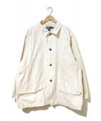()の古着「[古着]90'sハンティングジャケット」|ベージュ