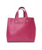 ()の古着「ハンドバッグ」|ピンク