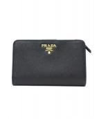 ()の古着「2つ折り財布 / コンパクトウォレット」|ブラック