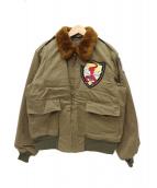 Buzz Ricksons(バズリクソンズ)の古着「B-10フライトジャケット」|オリーブ