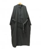 Curensology(カレンソロジー)の古着「ミリタリーガウンコート」|チャコールグレー