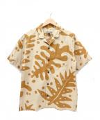 pataloha(パタロハ)の古着「アロハシャツ / ハワイアンシャツ」|ベージュ