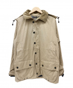 Barbour()の古着「ライトウェイトビデイルジャケット」 ベージュ