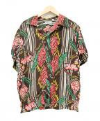 Sun Surf(サンサーフ)の古着「アロハシャツ / ハワイアンシャツ」|ブラウン