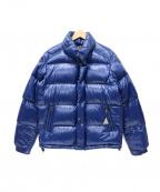 MONCLER()の古着「ダウンジャケット」|ブルー