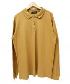 vainl archive(ヴァイナルアーカイブ)の古着「ロングスリーブポロシャツ」|マスタード