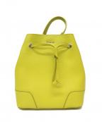 FURLA()の古着「巾着柄2WAYショルダーハンドバッグ」|イエロー