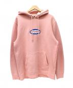 stussy()の古着「プルオーバーパーカー」|ピンク