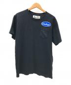 CHALLENGER(チャレンジャー)の古着「ポケットTシャツ」 ブラック
