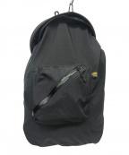 Comfy Outdoor Garment(コンフィーアウトドアガーメンツ)の古着「リュックサック / バックパック」|ブラック